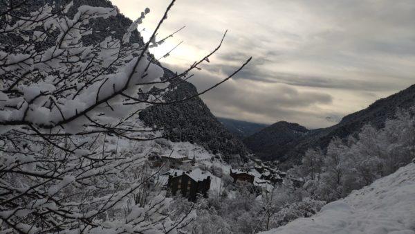 Winter Landscape Arinsal Andorra